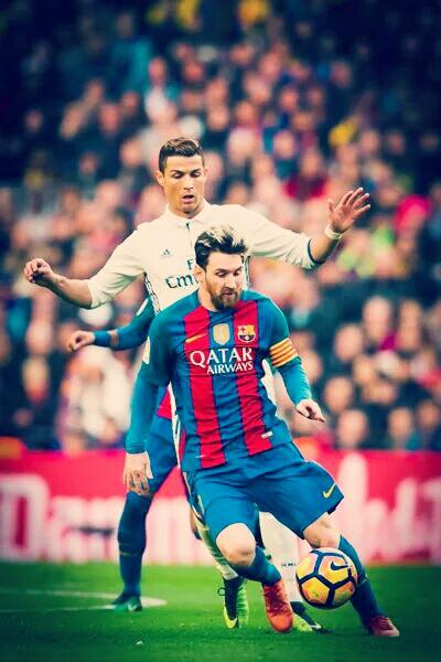 #messi #ronaldo #gootball #elclassico