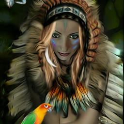mezclas nature ave indianart spanish
