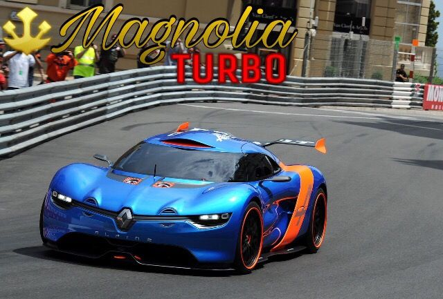 Magnolia Turbo From Motor World Car Factory Renaultalp