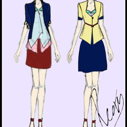 art my drawing design outfit