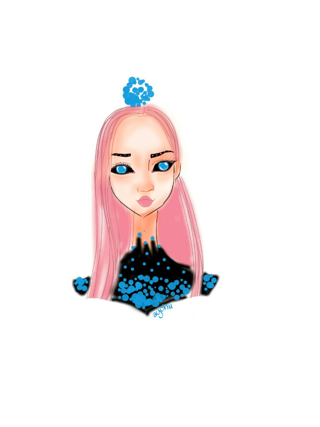 #FreeToEdit  #drawing  #girl  #fantastic  #fantasy  #art #cute #beauty  #magic #eyes  #aychuhappy