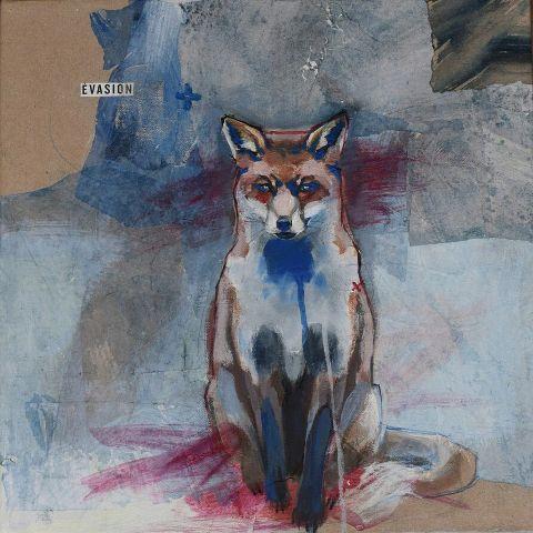 painting fox 500k