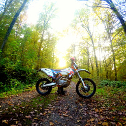 ktm exc motobike enduro nature freetoedit
