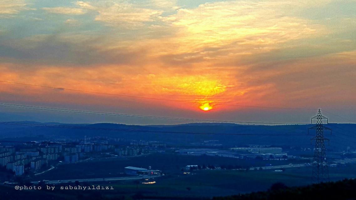#photo #nature #sunset #sunsetsky #sunsetlover #bursa #nilufer #korupark #view