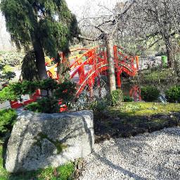 toulouse france bridge japanese park freetoedit