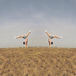 gymnastics travel adventure freetoedit drawing
