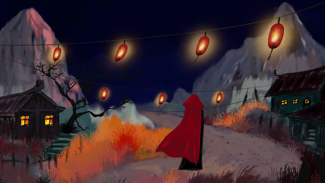 I tried to make a very short animation: https://youtu.be/gcqAYExGpJc  ^_^    #wdpvideogame #drawing #animation #art #colorful #people #village #nature #night #lights #digitalart