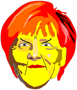 #FreeToEdit #ftestickers #face #merkel #angry