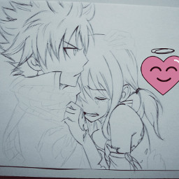 drawing anime nalu japan workingprogress freetoedit