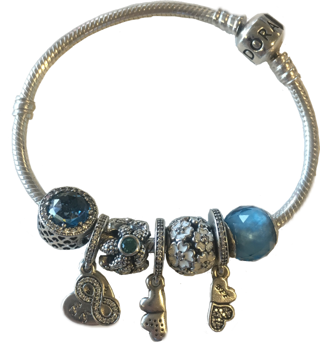 #pandora #jewelry #jewel #blue #silver #charmes #gift #madewithpicsart #ftestickers #FreeToEdit