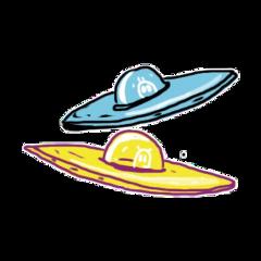ufo space alien ftestickers freetoedit