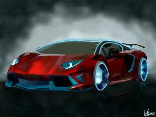 wdpcar car red drawnwithpicsart myart